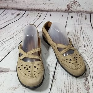 Cobb Hill Mary Jane Pippa Suede Straps 10 M
